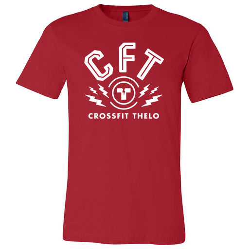 CrossFit Thelo - 100 - CFT - Bella + Canvas - Men's Short Sleeve Jersey Tee