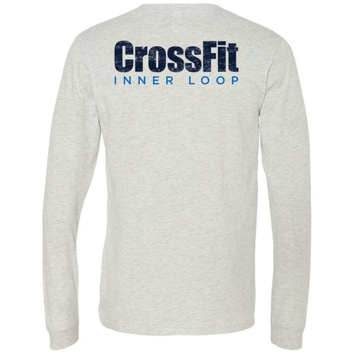 CrossFit Inner Loop - 202 - Pocket - Bella + Canvas 3501 - Men's Long Sleeve Jersey Tee