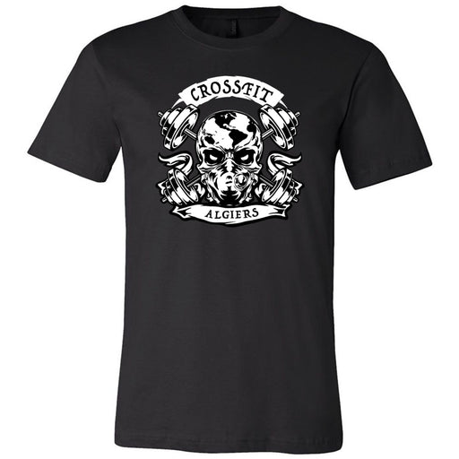 CrossFit Algiers - 100 - Strong People - Bella + Canvas - Men's Short Sleeve Jersey Tee