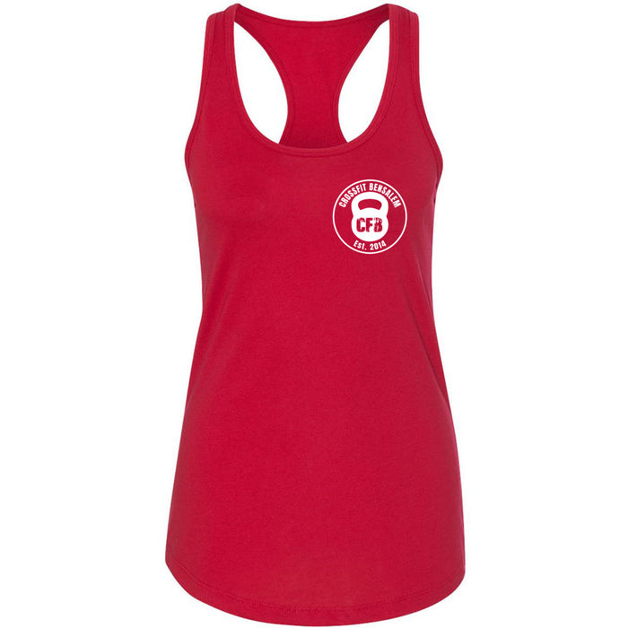 Crossfit Bensalem - 100 - Pocket - Next Level - Women's Ideal Racerback Tank