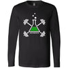 CrossFit Dunbar Cave Lab - 100 - Icon - Bella + Canvas 3501 - Men's Long Sleeve Jersey Tee