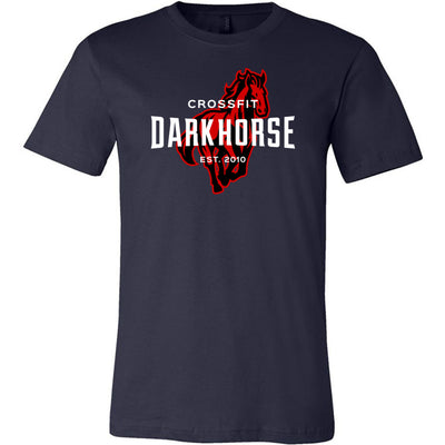CrossFit Dark Horse - 100 - Standard - Bella + Canvas - Men's Short Sleeve Jersey Tee