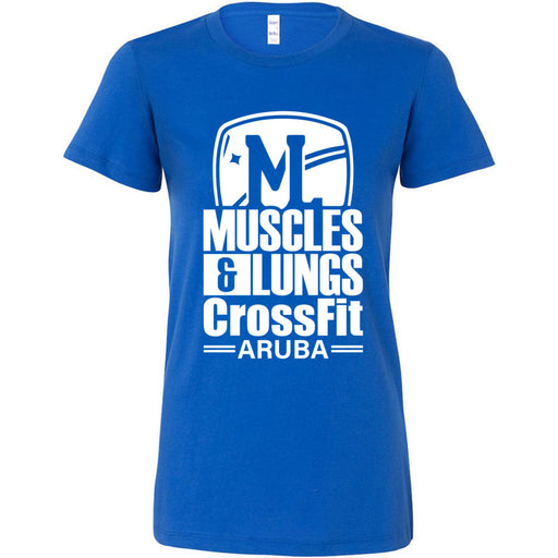 Muscles & Lungs CrossFit - 100 - Standard - Bella + Canvas - Women's The Favorite Tee