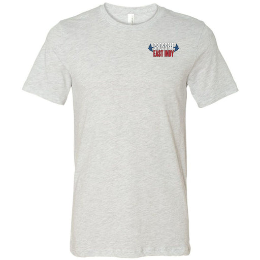 CrossFit East Indy - 100 - Pocket - Bella + Canvas - Men's Short Sleeve Jersey Tee