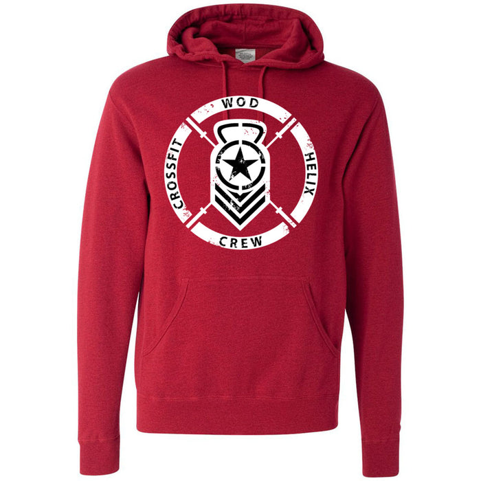 CrossFit Helix - 100 - WOD - Independent - Hooded Pullover Sweatshirt