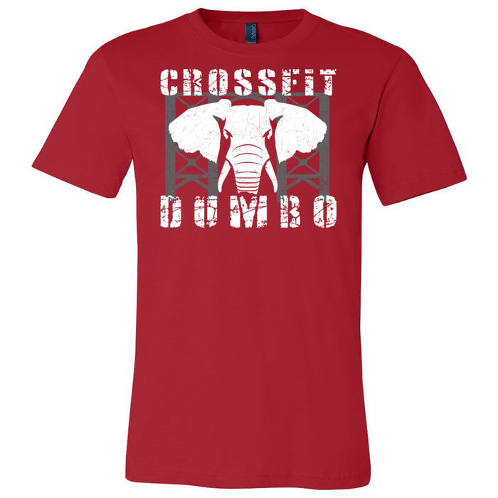 CrossFit Dumbo - 100 - Standard - Bella + Canvas - Men's Short Sleeve Jersey Tee