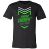 Made2Live CrossFit - 200 - 2020 Open Neon Gray - Bella + Canvas - Men's Short Sleeve Jersey Tee