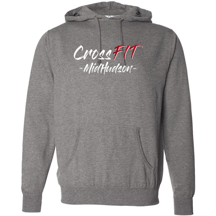 CrossFit Mid Hudson - Graffiti Stacked - Independent - Hooded Pullover Sweatshirt