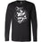 810 CrossFit - 100 - Barbell - Bella + Canvas 3501 - Men's Long Sleeve Jersey Tee