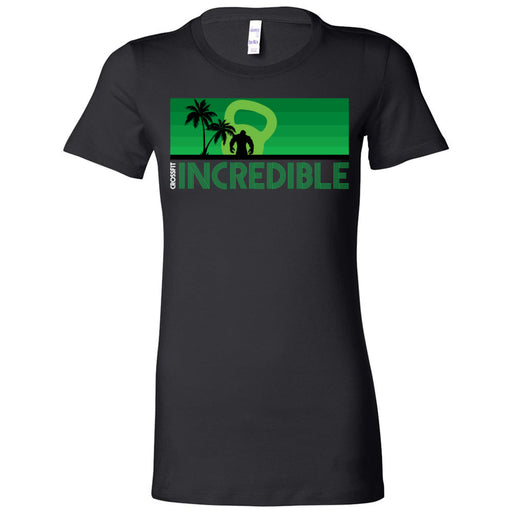 CrossFit Incredible - 200 - Green - Bella + Canvas - Women's The Favorite Tee