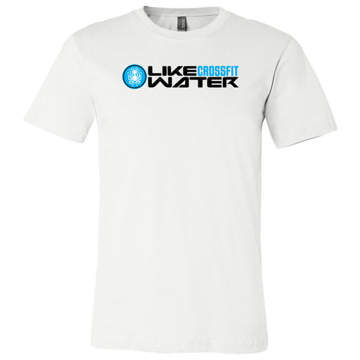 Like Water CrossFit - 100 - Standard - Bella + Canvas - Men's Short Sleeve Jersey Tee