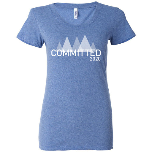 Badger CF - 200 - Committed - Bella + Canvas - Women's Triblend Short Sleeve Tee