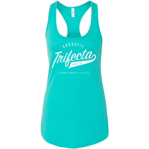 CrossFit Trifecta - 100 - Script - Next Level - Women's Ideal Racerback Tank