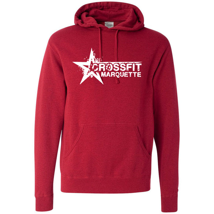 CrossFit Marquette - 201 - Independent - Hooded Pullover Sweatshirt