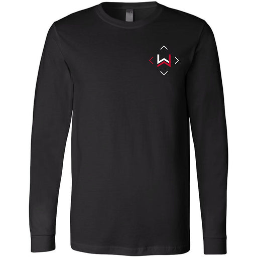 CrossFit West Des Moines - 202 - Icon - Bella + Canvas 3501 - Men's Long Sleeve Jersey Tee