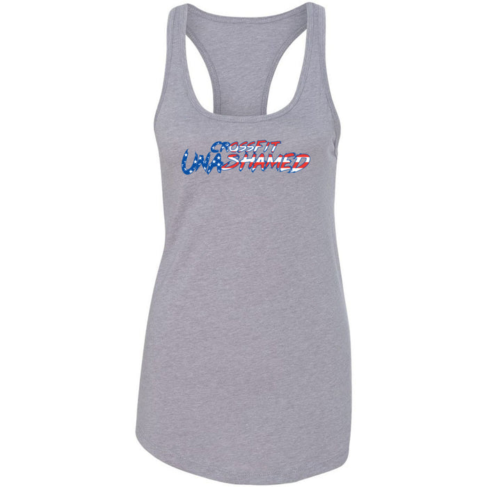 CrossFit Unashamed - 100 - USA - Next Level - Women's Ideal Racerback Tank