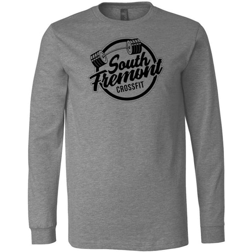 South Fremont CrossFit - 100 - Standard - Bella + Canvas 3501 - Men's Long Sleeve Jersey Tee