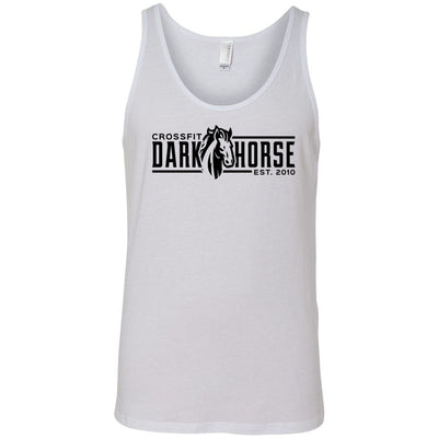 CrossFit Dark Horse - 100 - CDH - Bella + Canvas - Men's Jersey Tank