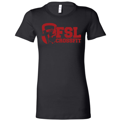FSL CrossFit - 100 - Red - Bella + Canvas - Women's The Favorite Tee