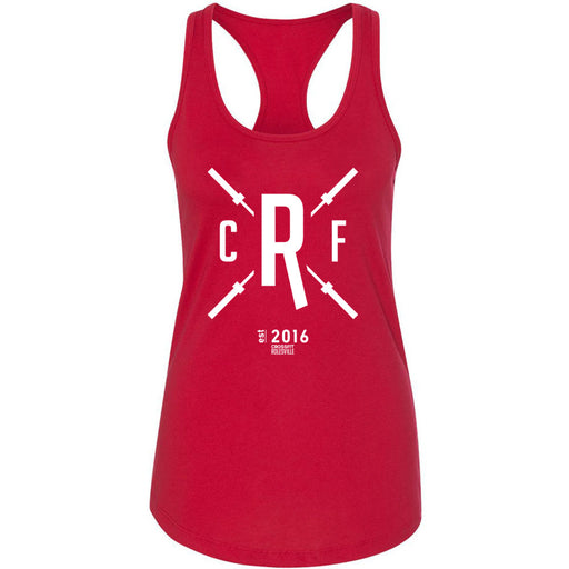 CrossFit Rolesville - 100 - Barbell - Next Level - Women's Ideal Racerback Tank