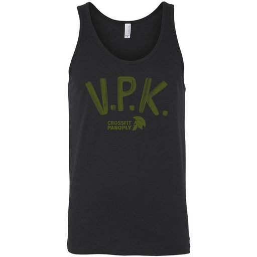 CrossFit Panoply - 100 - VPK Military Green - Bella + Canvas - Men's Jersey Tank