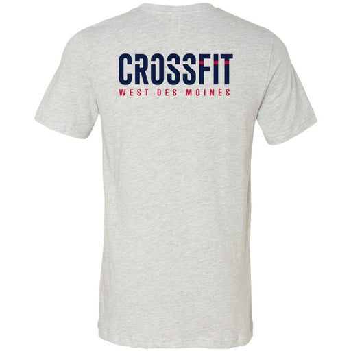CrossFit West Des Moines - 200 - CFWDM - Bella + Canvas - Men's Short Sleeve Jersey Tee
