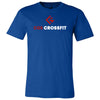 CGS CrossFit - 100 - Stacked - Bella + Canvas - Men's Short Sleeve Jersey Tee