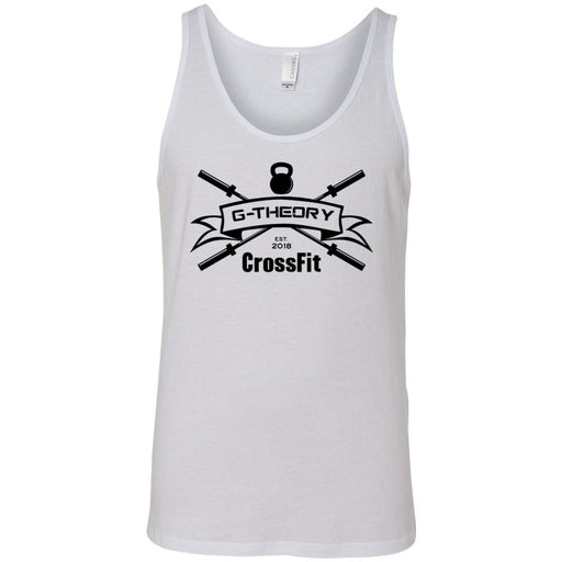 G-Theory CrossFit - 100 - One Color - Bella + Canvas - Men's Jersey Tank