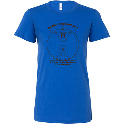 Ahwatukee CrossFit - 100 - Female CrossFitter Brown - Bella + Canvas - Women's The Favorite Tee