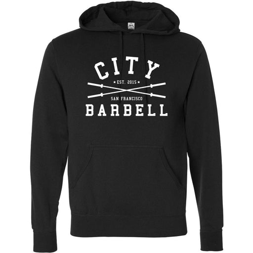 The City CrossFit - 201 - Barbell - Independent - Hooded Pullover Sweatshirt