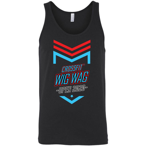CrossFit Wig Wag - 100 - 2020 Open 20.2 - Bella + Canvas - Men's Jersey Tank