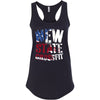 New State CrossFit - 100 - Flag - Next Level - Women's Ideal Racerback Tank