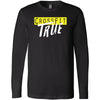 CrossFit True - 202 - True - Bella + Canvas 3501 - Men's Long Sleeve Jersey Tee