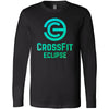 CrossFit Eclipse - 100 - Summer - Bella + Canvas 3501 - Men's Long Sleeve Jersey Tee