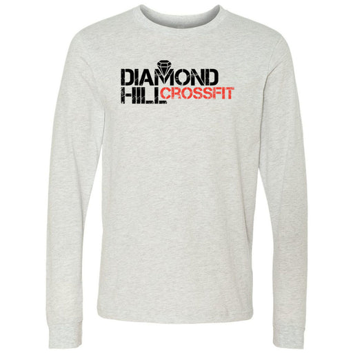 Diamond Hill CrossFit - 100 - Standard - Bella + Canvas 3501 - Men's Long Sleeve Jersey Tee
