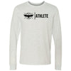 CrossFit Lindsay - 100 - Athlete - Bella + Canvas 3501 - Men's Long Sleeve Jersey Tee