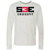 S3E CrossFit - 100 - Standard - Bella + Canvas 3501 - Men's Long Sleeve Jersey Tee