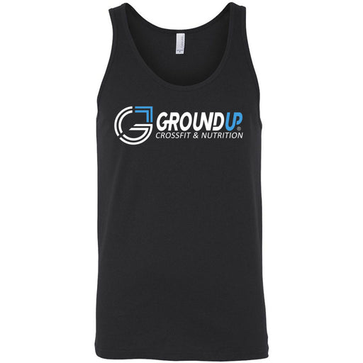 CrossFit Ground Up - 100 - Standard - Bella + Canvas - Men's Jersey Tank