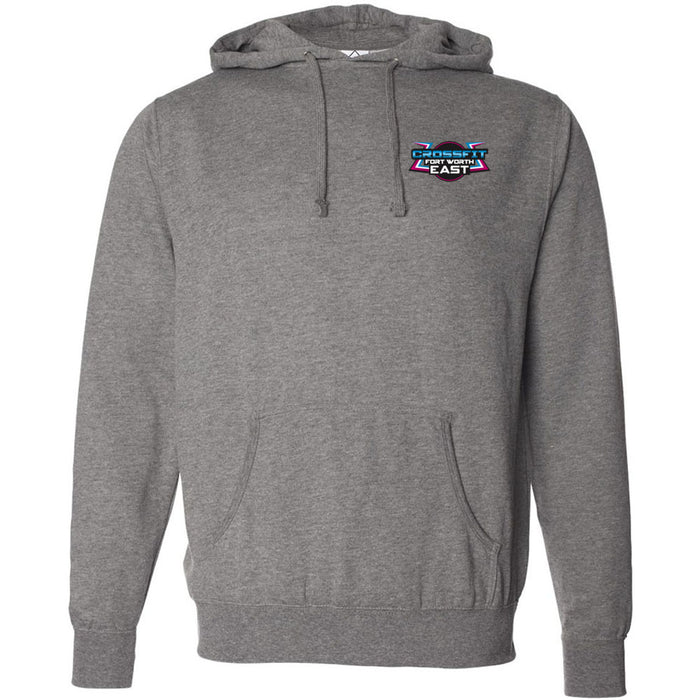 CrossFit Fort Worth East - 100 - Pocket - Independent - Hooded Pullover Sweatshirt