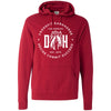 CrossFit Dark Horse - 100 - Decide-Commit-Succeed - Independent - Hooded Pullover Sweatshirt