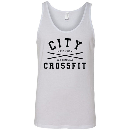 The City CrossFit - 100 - Athletic - Bella + Canvas - Men's Jersey Tank