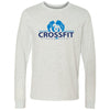 CrossFit Strong Heart - 100 - Standard - Bella + Canvas 3501 - Men's Long Sleeve Jersey Tee