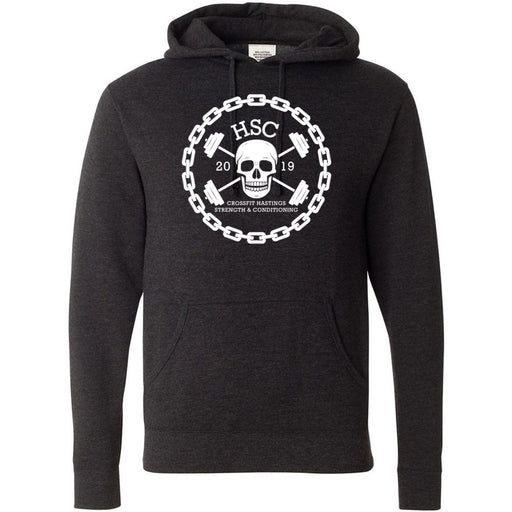 CrossFit HSC - 100 - Skull - Independent - Hooded Pullover Sweatshirt