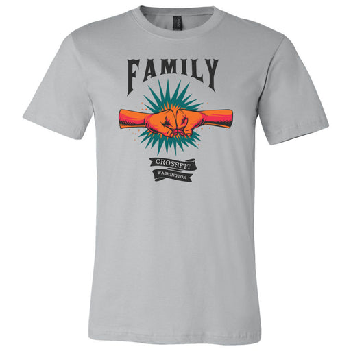 CrossFIt Washington - 100 - Family - Bella + Canvas - Men's Short Sleeve Jersey Tee