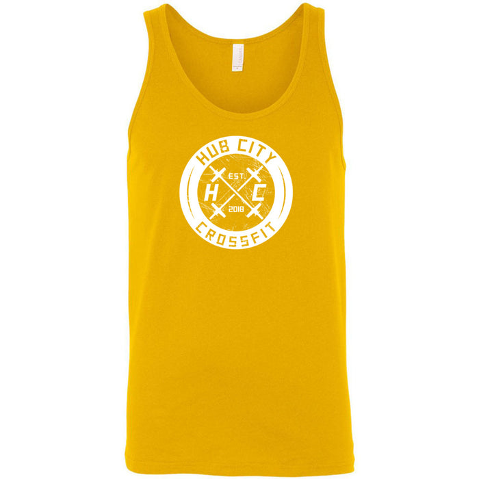 Hub City CrossFit - 100 - Standard One Color - Bella + Canvas - Men's Jersey Tank
