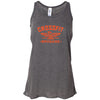 CrossFit Brigade - 100 - Orange - Bella + Canvas - Women's Flowy Racerback Tank