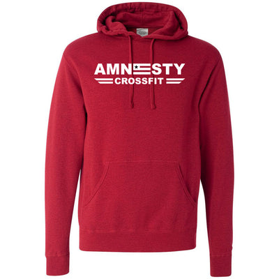 Amnesty CrossFit - One Color - Independent - Hooded Pullover Sweatshirt