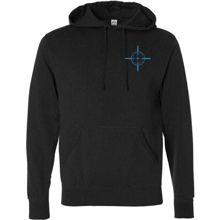 Precision CrossFit - 201 - Foil - Independent - Hooded Pullover Sweatshirt