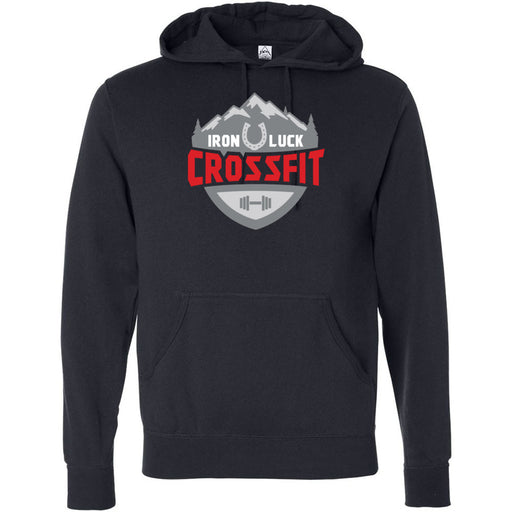 Iron Luck CrossFit - 100 - Standard - Independent - Hooded Pullover Sweatshirt