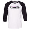 Ahwatukee CrossFit - 100 - Standard - Bella + Canvas - Three-Quarter Sleeve Baseball T-Shirt